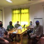 Reunión de trabajo junto al Senasa y Salud Pública