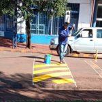 Mantenimientos de espacios públicos, bacheos y construcción de vereda peatonal