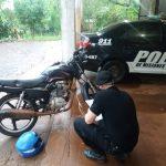 Recuperaron una motocicleta que fue robada días atrás en Oberá
