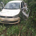 Choque entre un auto y un camión dejó sólo daños materiales en Campo Viera