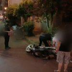 Dos motociclistas resultaron lesionados en siniestros viales