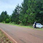Despiste de un vehículo dejó un lesionado en Campo Ramón