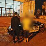 Detuvieron a un joven por ocasionar disturbios en la vía pública