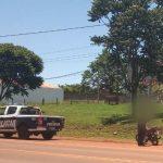 Motociclista embistió a un peatón en la Ruta 14