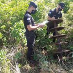 La Policía recuperó una máquina de arar en Los Helechos