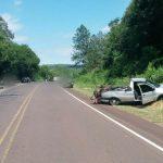 Choque entre una Camioneta y un automóvil, dejó daños materiales en San Martín