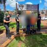 Detuvieron a tres jóvenes por un robo en Oberá