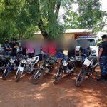 Seis detenidos y siete motocicletas secuestradas por realizar maniobras peligrosas y ocasionar molestias