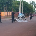 Motociclista perdió la vida tras un siniestro vial en Oberá