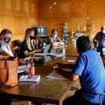 Consejo de Administración de la Celo recibió a la Defensora del Pueblo y vecinos de barrio Norte