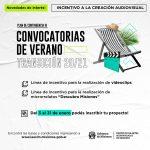 """IAAVIM lanza """"convocatorias de verano"""" para la realización de videclips y de microrrelatos"""