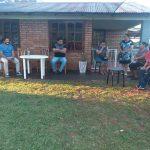 Reunión con vecinos del barrio Copisa