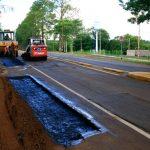 Vialidad trabaja en mantenimiento de la Ruta Provincial N° 103