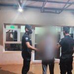 Amenazó de muerte a una familia y fue detenido por la policía