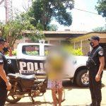 Huyó con una motocicleta sin documentaciones y fue demorado en Campo Viera