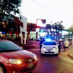 Una joven resultó lesionada al ser embestida por un vehículo en la zona céntrica