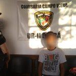 Encontraron en Oberá al adolescente que se fue de su casa en Campo Viera
