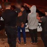 Entraron a robar a una casa y terminaron presos
