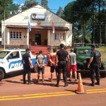 La Policía interceptó una camioneta cargada con media tonelada de yerba robada y hay tres detenidos