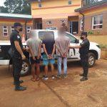 Cinco detenidos y un demorado por el robo a una escuela