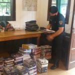 La policía incautó una carga de indumentaria y blanquería sin el aval aduanero