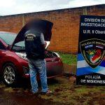 La policía recuperó en Oberá un vehículo robado en Buenos Aires