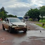 Tres lesionados tras un siniestro vial en Campo Ramón