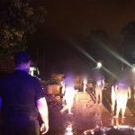 Asistieron a siete familias tras el desborde el arroyo Mbotaby