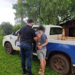 Agredió y amenazó de muerte a su padre y fue detenido