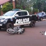 Cámaras de estación de servicio complican a policía que chocó y huyó
