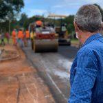 Vialidad Provincial realiza obras en la ciudad de Oberá
