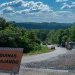 Pueblo Salto: se comenzó la etapa final de la construcción de acceso pavimentado