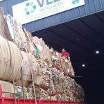 Nuevo envío de material reciclado