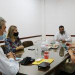 Reunión con la Ministra de Desarrollo Social