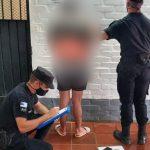 Detuvieron a un hombre minutos después de haber robado en una vivienda