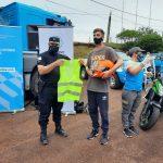 La Policía participó en la capacitación brindada por la Agencia Nacional de Seguridad Vial