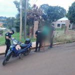 Recuperaron una motocicleta robada que era ofertada por las redes sociales