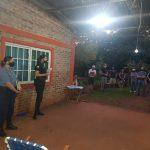 La Policía y el Foro de Seguridad del Barrio Ecológico de Oberá mantuvieron una reunión de coordinación