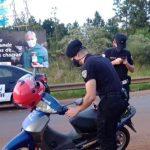 Motociclista resultó herido tras despistar con su motocicleta en la Ruta 14