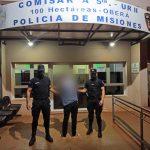 Un hombre fue detenido en Villa Stemberg por causar disturbios y amenazar a su pareja