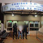 Violento fue detenido en Cien Hectáreas por agredir y amenazar a su concubina