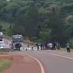 Militantes del FOL cortan la ruta 14