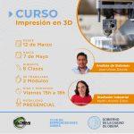Curso de Impresión 3D en el Club de Emprendedores