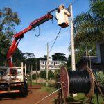 Energía Eléctrica: Personal de la CELO realiza importantes trabajos en distintos puntos de la ciudad