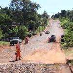 Iniciaron tareas de asfaltado en la Av. Yerbal Viejo