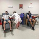 Los pibes del Federal donaron plasma al Samic de Oberá
