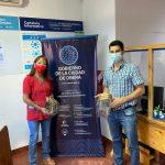 Donación de máscaras