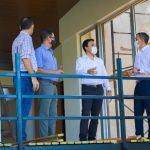 Avanza obra del Centro de Atención al Visitante en el Berrondo