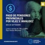 Pago de Pensiones provinciales