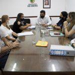Coordinaron actividades con la subsecretaria de Relaciones con la Comunidad y Violencia